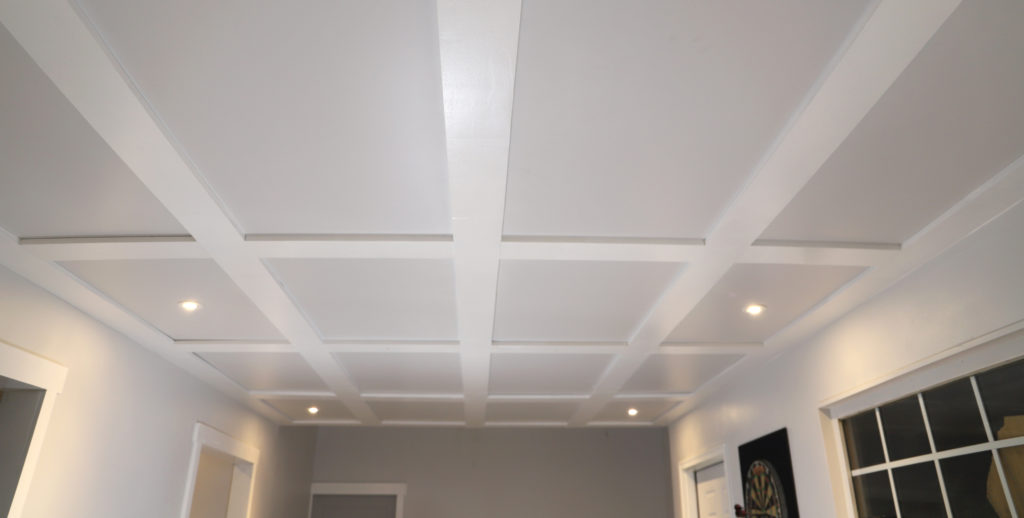 Diy Coffered Ceilings With Moveable