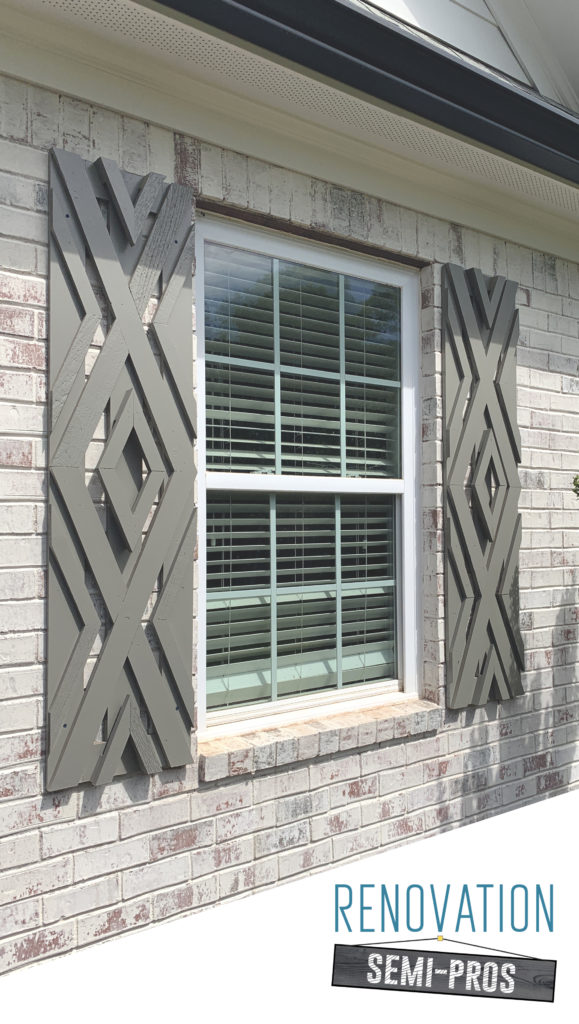 Diy Designer Inspired Shutters That Instantly Boost Your Curb Appeal Renovation Semi Pros