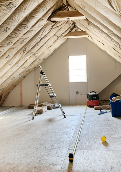 Insulating The Room Over The Garage Renovation Semi Pros