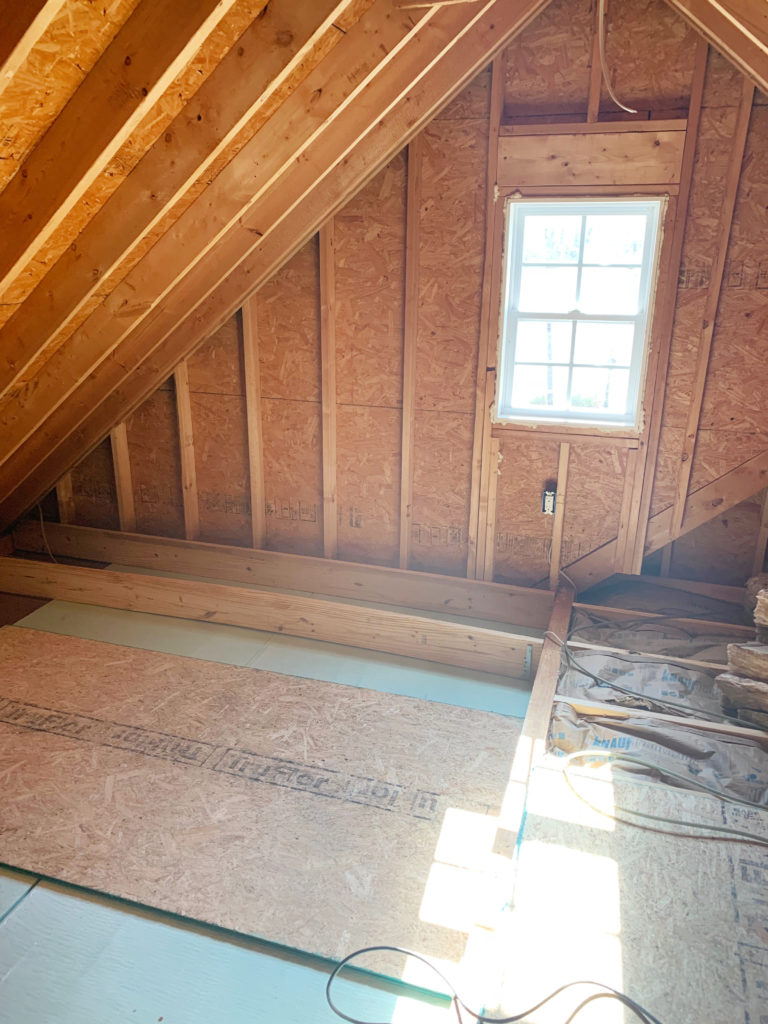 Insulating The Room Over Garage