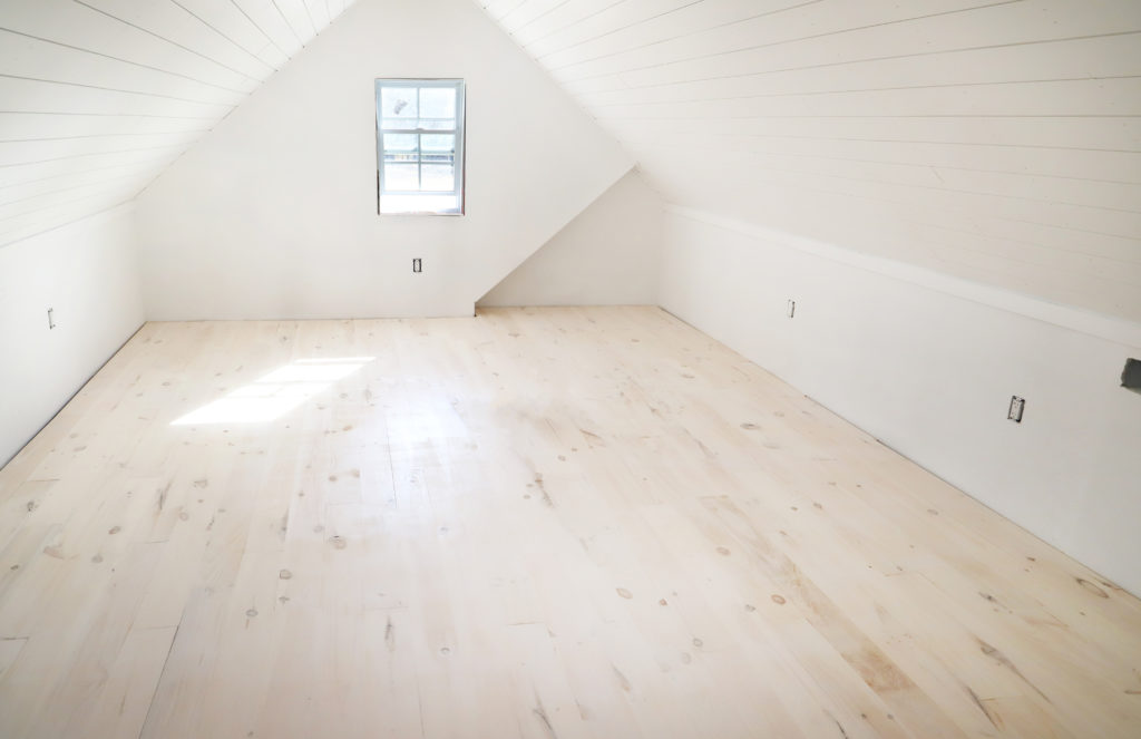 Diy Whitewashed Wood Floors